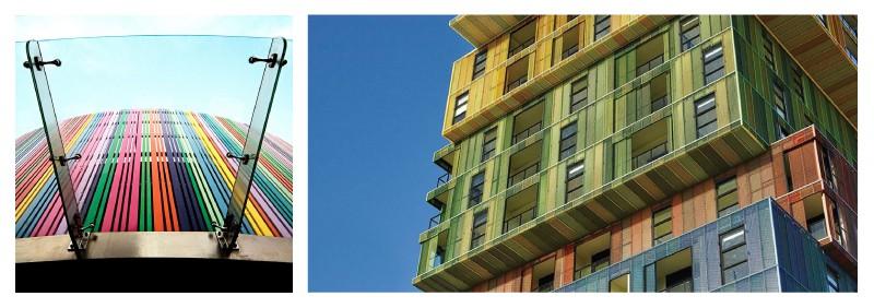 полагане на електростатична боя върху изделия от алуминиеви сплави за архитектурно приложение