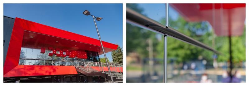 метлна фасада от елементи CASSETTON на Фантастико Банкя