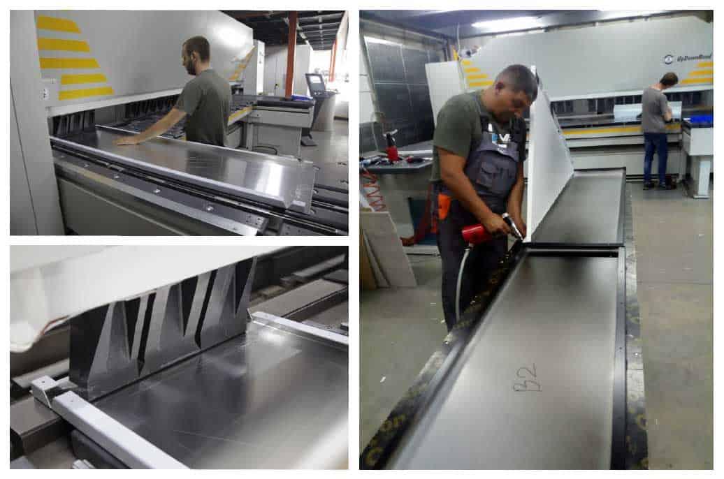 производство на фасадни изделия от метал