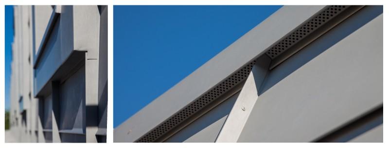 готов покрив от титан цинкова ламарина на ББР